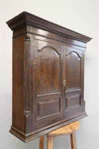 Small Wall Cupboard by Georgian Antique Oak Wall Hanging Cupboard Antiques Atlas