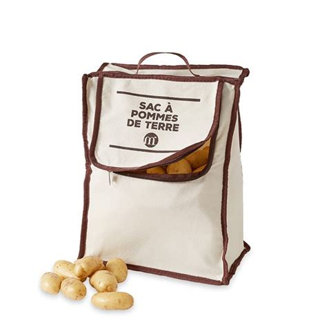 rangement pomme de terre cuisine réserve à pommes de terre 10 kg mathon sacs de