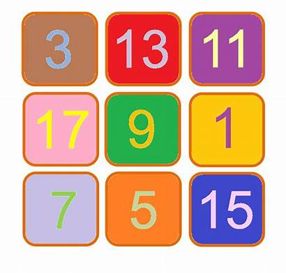 Odd Numbers Patterns Finding Magic Nine Swaps