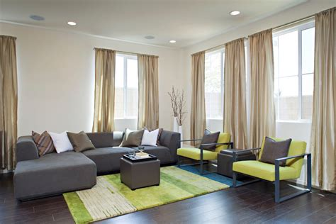 lime green chair living room contemporary with colorful