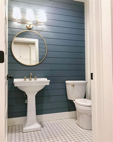 Bathroom Wall Design Ideas by 35 Best Shiplap Wall Bathroom Design Ideas