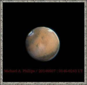 Michael A. Phillips' Astro Blog: Mars' 2014 retrograde ...
