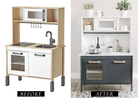 ikea kitchen makeover ikea play kitchen diy makeover 1791