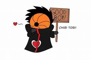 chibi tobi by harmpink456 on deviantART