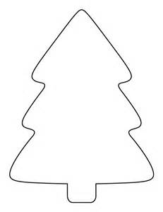 printable simple christmas tree pattern use the pattern for crafts creating stencils