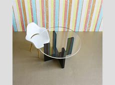 Modern Minimalist Dining, Kitchen Table in Acrylic w