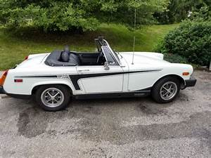 1977 Mg Midget Convertible 4 Speed White Special