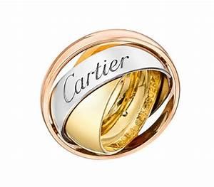 Bague 3 Ors Cartier : tout savoir de la collection trinity du joaillier cartier ~ Carolinahurricanesstore.com Idées de Décoration