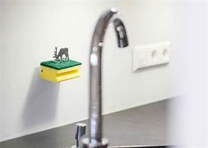 Design Im Dorf : clean green schwammhalter hirsch design im dorf ~ Watch28wear.com Haus und Dekorationen