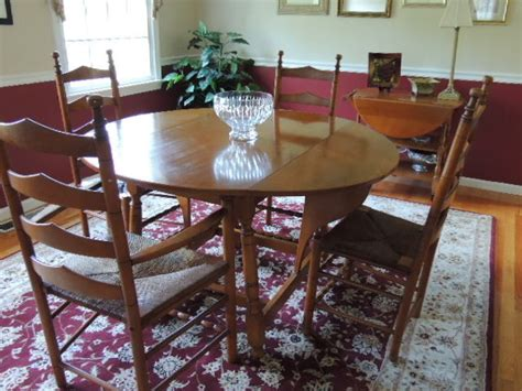 whitney heirloom solid maple dining