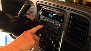 2004 Chevy Truck -setting The Clock 1-2