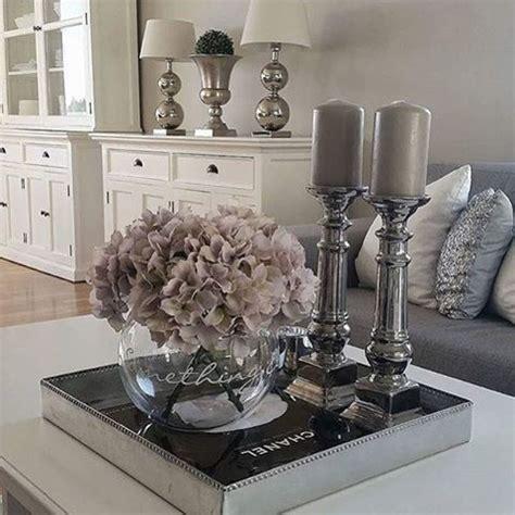 living room center table decor pynteopstillinger pynt til spisebordet pinterest