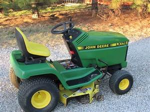 John Deere Lx176 Hydro 14 H P  38 Inch Cut Mower