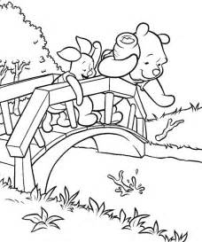 Pooh and Piglet Coloring Pages