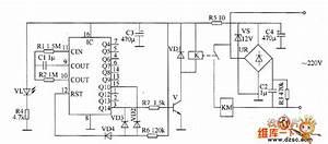 Temperature Controller Circuit Diagram 1 - Temperature Control - Control Circuit