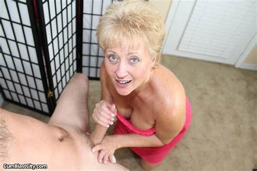 Fabulous Smiling Mature Gives #Smiling #Blonde #Milf #Aunt #Tracy #Is #Pleasingly #Jerking #Off