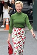 Gretchen Mol - Arriving to Michael Kors Fashion Show in ...
