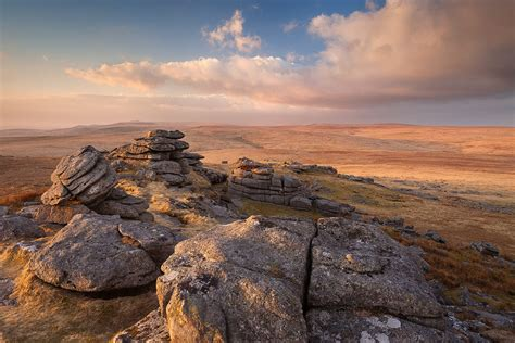 Great Mis Tor Looking North at sunset | Great Mis Tor ...