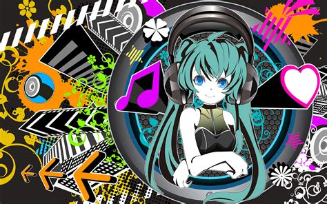 anime epic musique hatsune miku vocaloid 18 wallpaper anime wallpapers