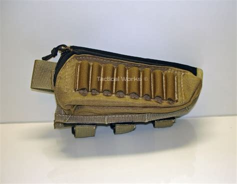 tactical operations ammo cheek pad coyote brown range accessories range