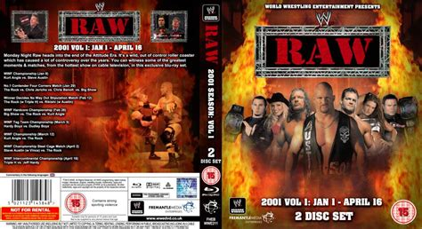 Wwe Raw 2001 Dvd (bluray