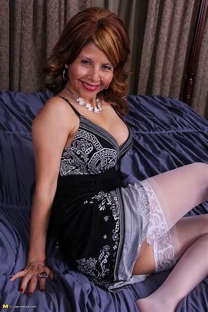 Cougar Naughty Mature Bed Fun American Having