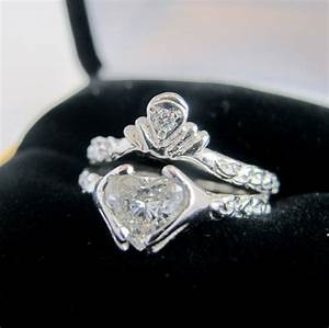 claddagh ring wedding set by ricksonjewellery things i With claddagh wedding ring sets