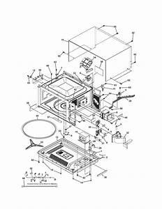 Microwave Diagram  U0026 Parts List For Model 79047853406