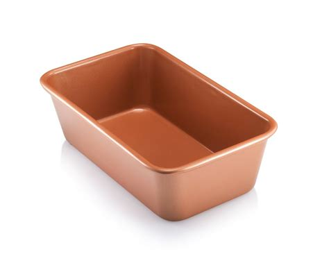 copper baking pan steel gotham loaf bakeware stick non pans nonstick inch quick release sheets tray gotmixer