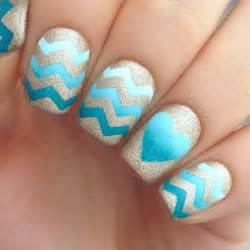 pretty nail designs nail trend to try chevron nails pretty designs