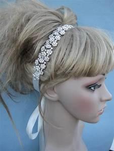 Rhinestone Bridal Headband Wedding Hair Accessories