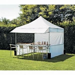 Tonnelle 4 X 3 : barnum carr march 3 x 3 m polyester 300 gr achat ~ Edinachiropracticcenter.com Idées de Décoration