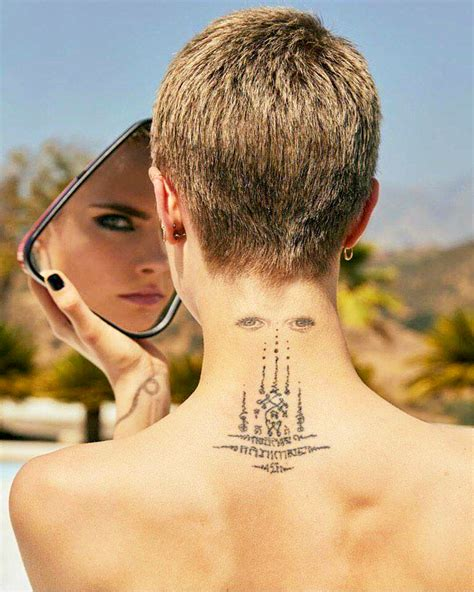 32 Sexiest Cara Delevingne Tattoos That Will Inspire You