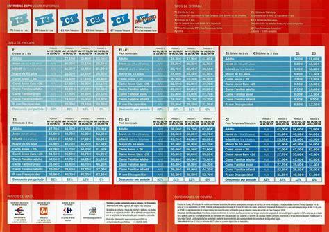 Biglietto Ingresso Expo biglietti ingresso expo zaragoza viaggi e vacanze a