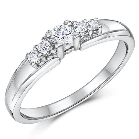 cobalt 5 stone solitaire engagement 3mm bridal rings bridal ring sets at elma uk jewellery