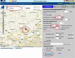 Kwp Berechnen : photovoltaik planungshilfe pv auswertung m ~ Themetempest.com Abrechnung