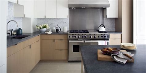 Bluestone Countertops by Kitchen With Custom Oak Cabinetry Honed Belgian Bluestone