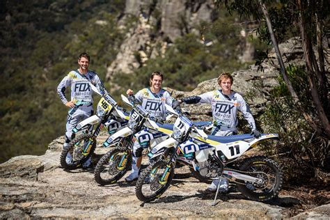 Expanded Three-rider Roster For Husqvarna Enduro Racing