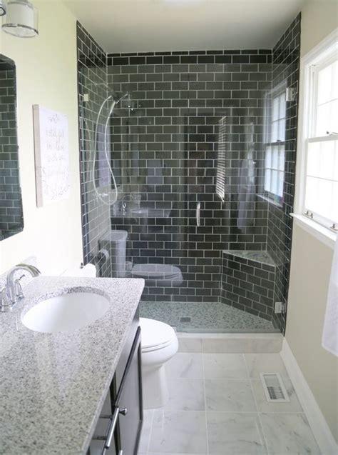 reasons    black subway tile   bathroom