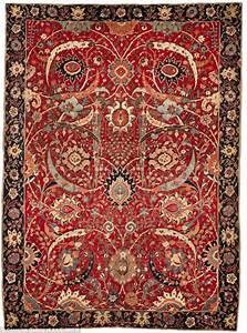 Ancient persian rug once owned by american billionaire set for Ancient persian carpet