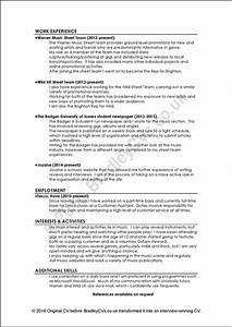 Examples Of Good And Bad Cvs    Resumes By Bradley Cvs Uk