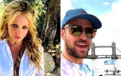 Britney Spears Shares A Major Throwback Pic With Ex Justin ...