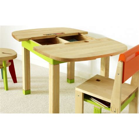 chambre lapin table bois enfant mobilier sur enperdresonlapin