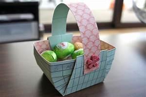 Panier Oeufs De Paques : petit panier pour p ques voir ~ Melissatoandfro.com Idées de Décoration