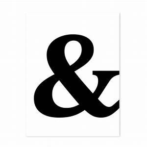 Schwarz Weiß Sprüche : design poster 39 und zeichen 39 30x40 cm schwarz weiss motiv typographie dekoration modern poster ~ Orissabook.com Haus und Dekorationen