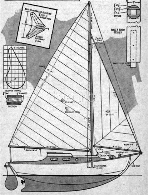 Sailing Boat Plans Free by Wooden Sailboat Plans Free Quick Woodworking Projects