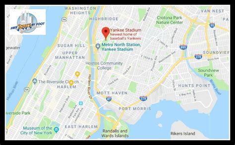 yankee stadium tours game   tours  foot