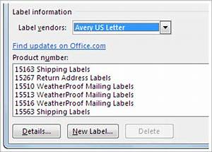 create return address labels word With how to make product labels in word