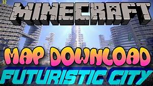Minecraft PS3PS4 Futuristic City Map WDownload