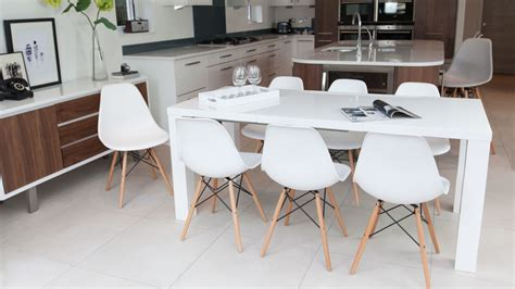 kitchen island as dining table white kitchen table and chairs derektime design